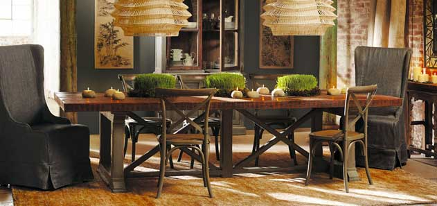 dining table hancock from arhaus nomadic decorator. Black Bedroom Furniture Sets. Home Design Ideas