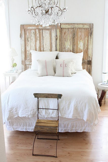 Unique headboards from repurposed wood nomadic decorator for Different headboards for beds