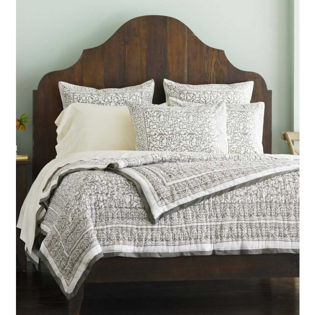 Simple Beds For Block Print Bedding Nomadic Decorator