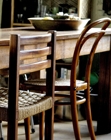 dining table chair mismatched nomadic decorator