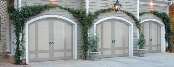 Beautiful garage doors nomadic decorator for Beautiful garage doors