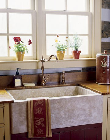 Farmhouse Sinks | Nomadic Decorator
