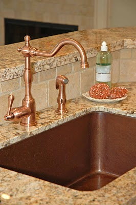 What Faucet Goes With A Copper Sink Nomadic Decorator