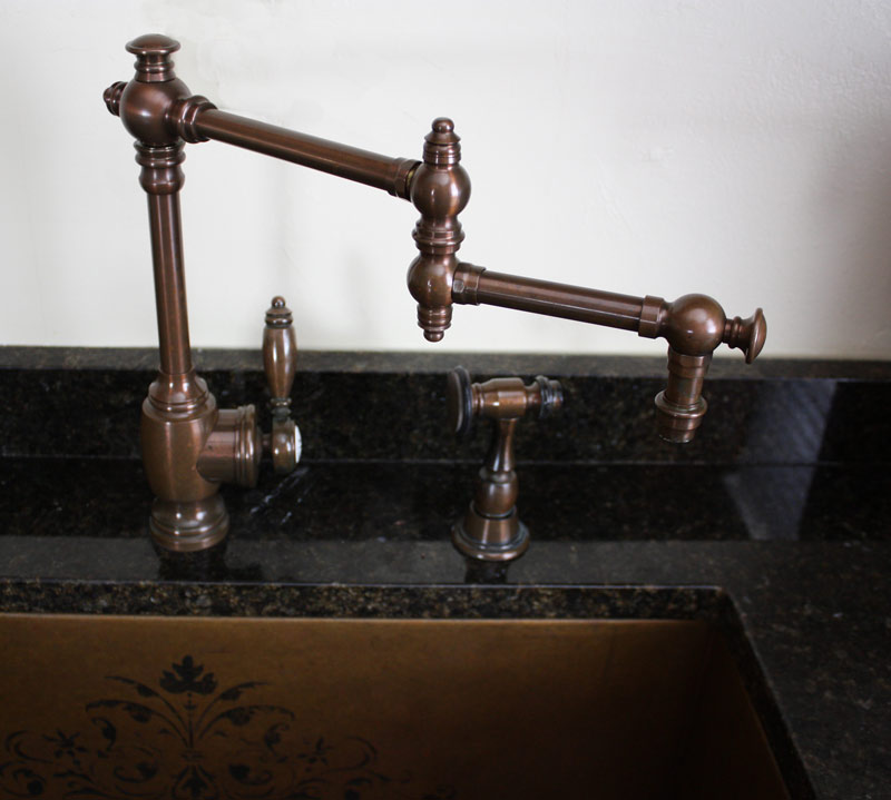 What Faucet Goes with a Copper Sink? | Nomadic Decorator