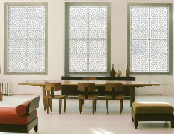 "Deals on madison park saratoga 108"" panel fretwork print window."