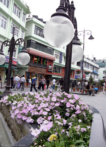 A Pedestrian-Only Boulevard in Gangtok, Sikkim - India pied-a-terre blog
