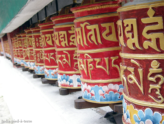 Prayer Wheels in Sikkim - India pied-a-terre blog