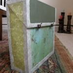DIY: Magazine Box Decorated with Scrapbook Paper