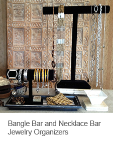 DIY Bangle Bar Jewelry Organizer