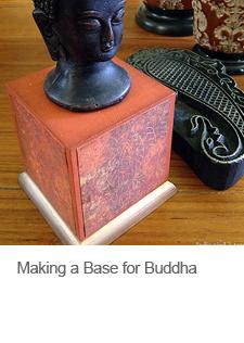 DIY Base for Buddha Head
