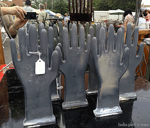Glove Mold Hands at Randolph Street Market