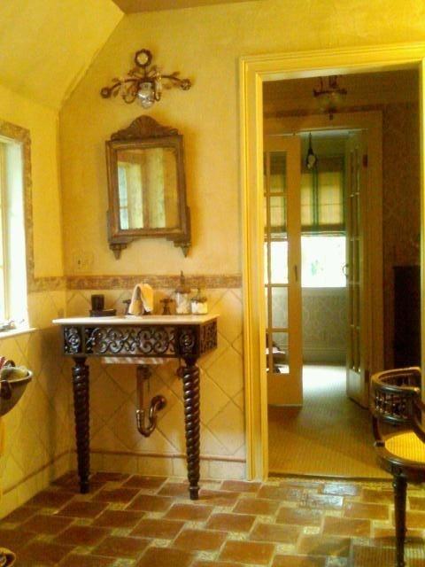 Must Make An India Inspired Carved Wood Bathroom Vanity