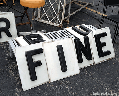 R U FINE at the Randolph Street Market?