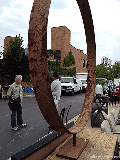 Rust Texture at Randolph Street Market