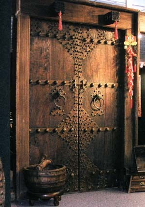 Antique Chinese Door via NYJPW