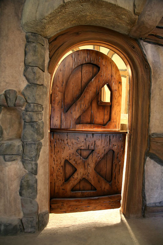 Storybook House Door via Bob Simmons Design