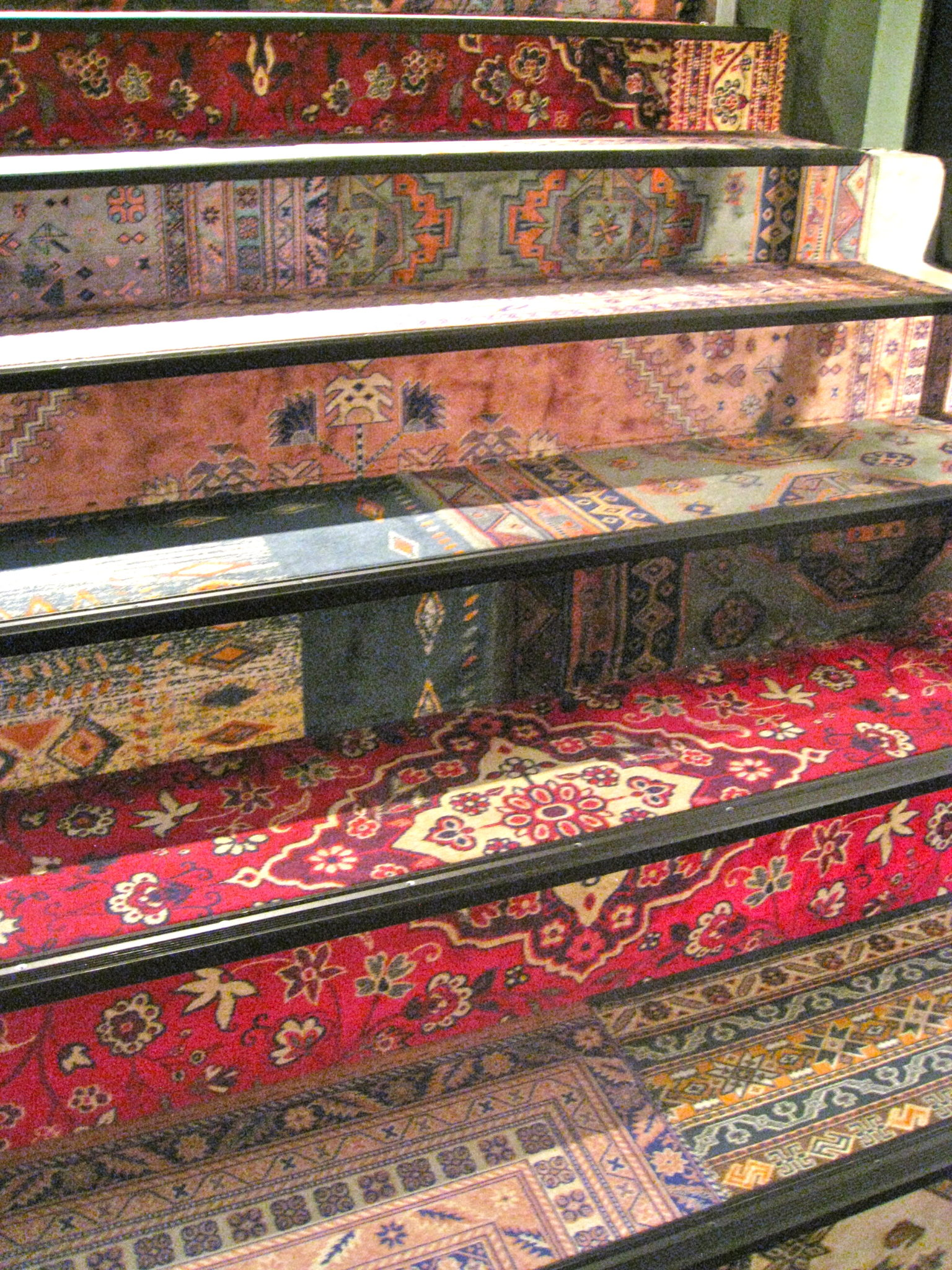 Persian carpet designs at Desigual in Hannover Germany