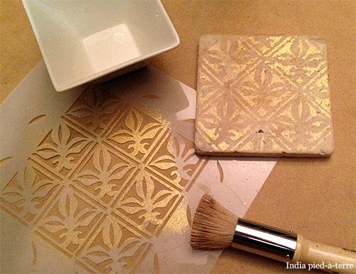 Stenciled-Tile