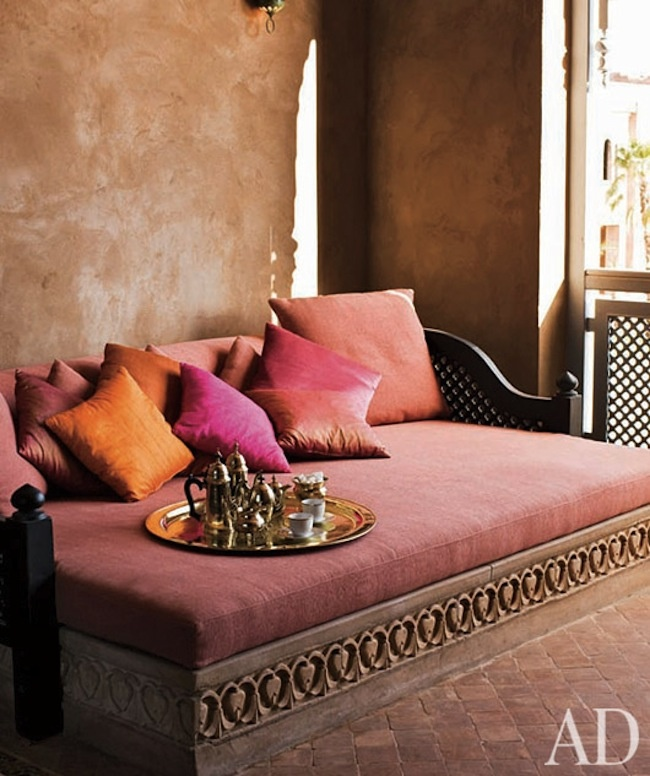 Architectural Digest Dusty Pink