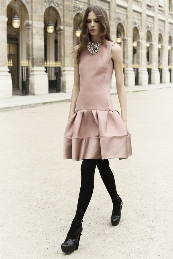 Dusty Pink Dress