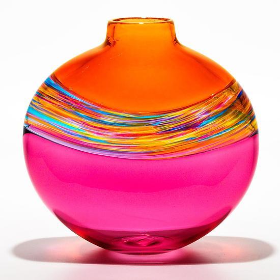 Glass Vase via artful home