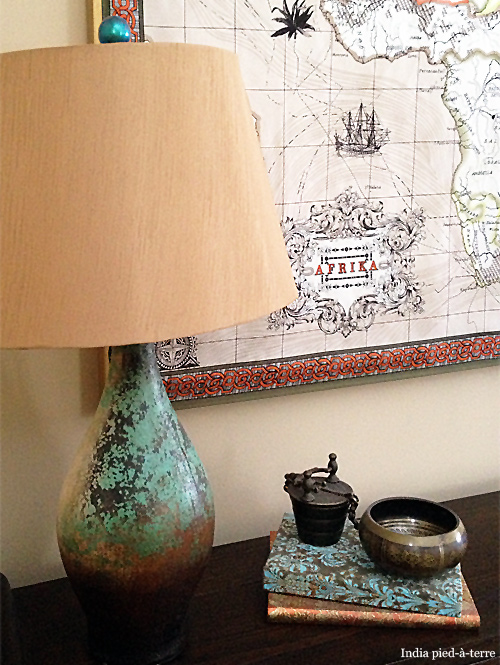 Nail Polish Painted Lamp Finial