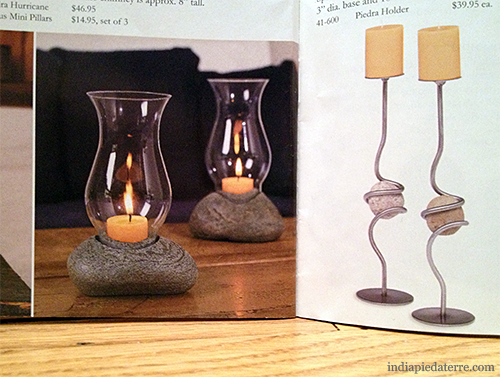 Stone-Candleholders
