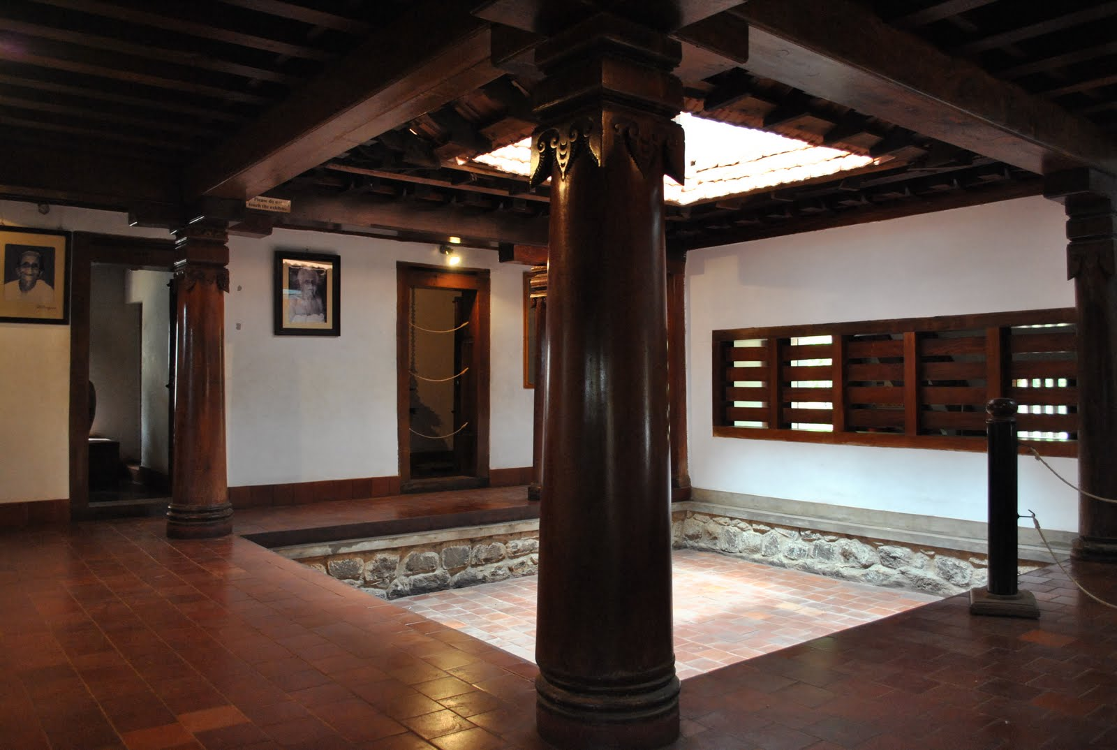 Country Courtyard House In An Ancestral Indian Village