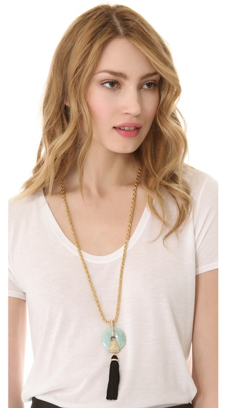 Rachel-Zoe-Amazonite-Tassel-Necklace-at-ShopBop