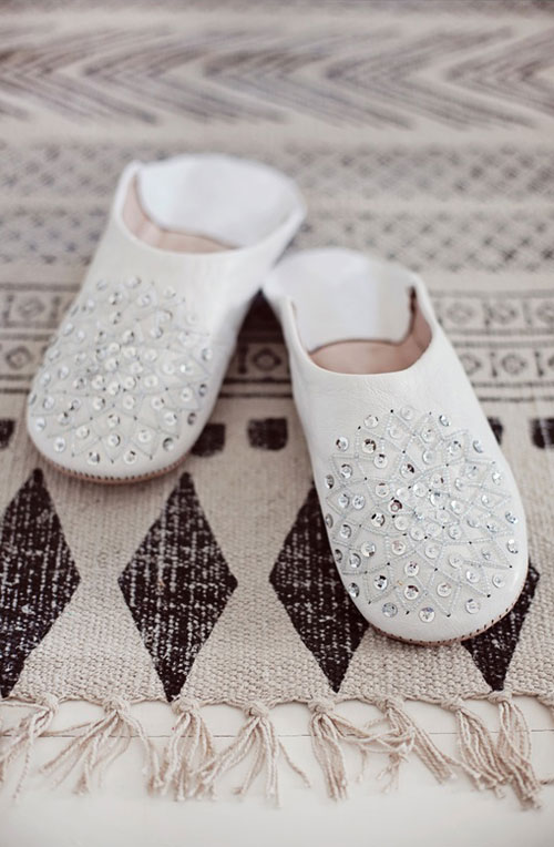 Shoes and Rug Via The Style Files