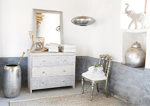 Scandinavian-Indian Style via Maisons du Monde