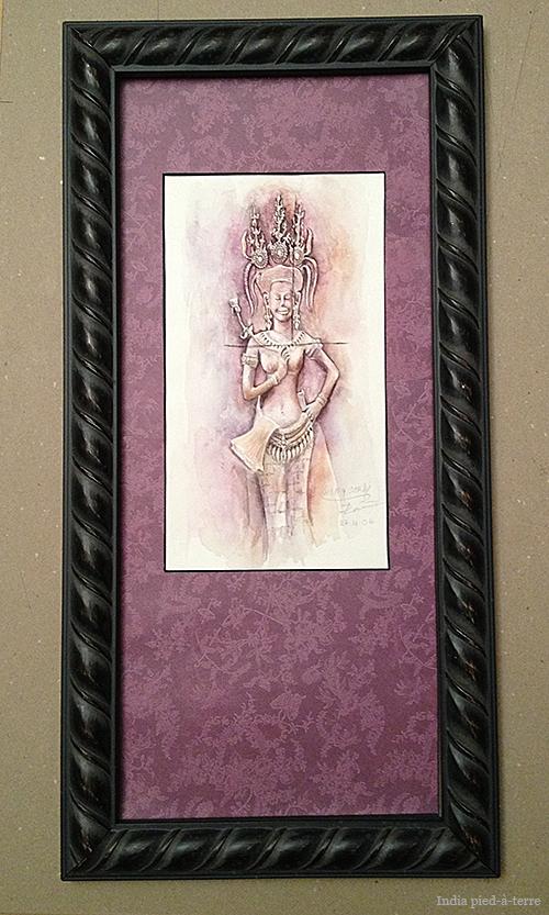An-Angkor-Apsara-Framed