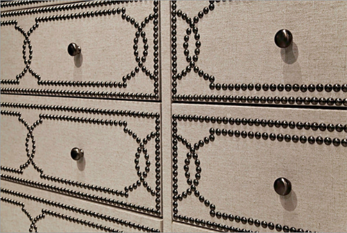 Cabrillo Nailhead and Linen Trim Chest from Bernhardt