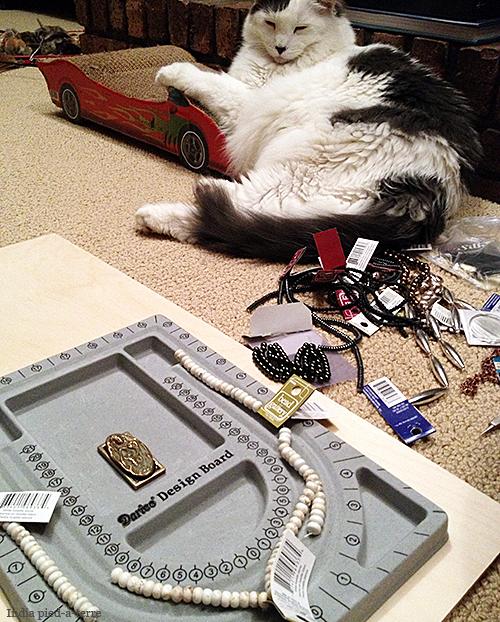 Crafty Cat Supervises Again
