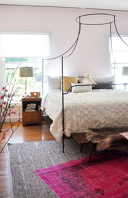 Layered Rugs via SF Girl By Bay
