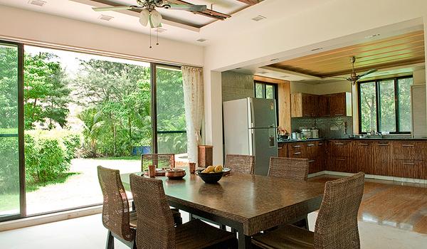 Open Concept Kitchen Dining via Saffronart Prime Properties