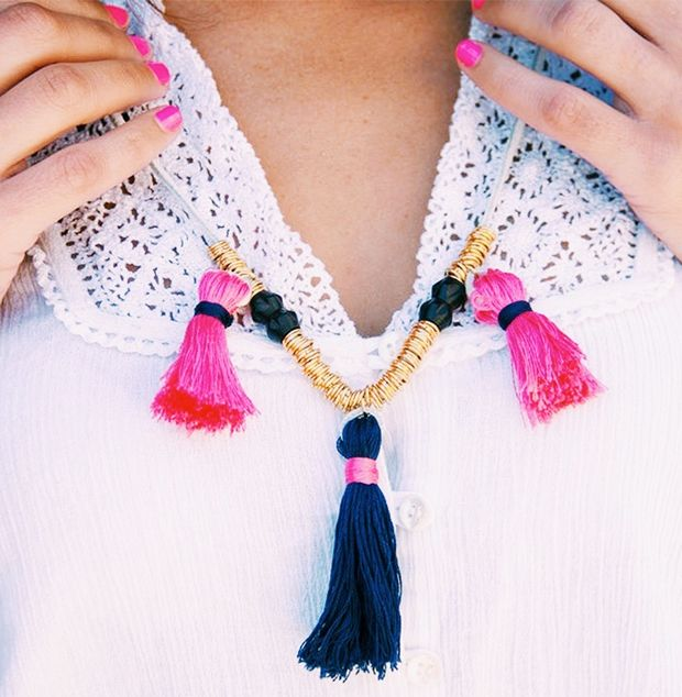 DIY Boho Tassel Necklace Kit by Justina Blakeney