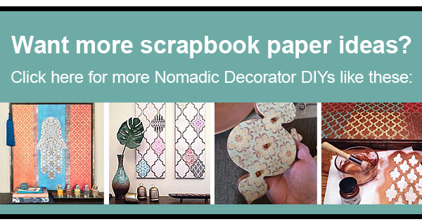 Things to Do With Scrapbook Paper