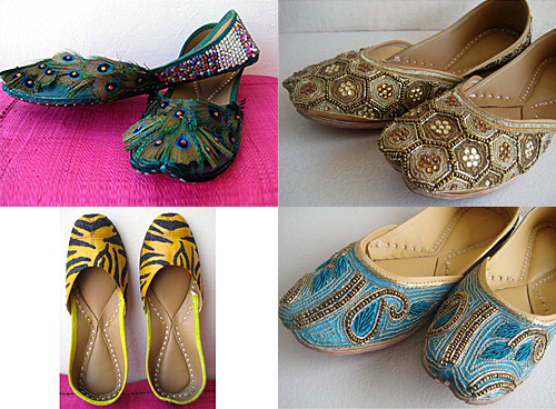 India Style Bohemian Shoes from Foot Soles Etsy Shop