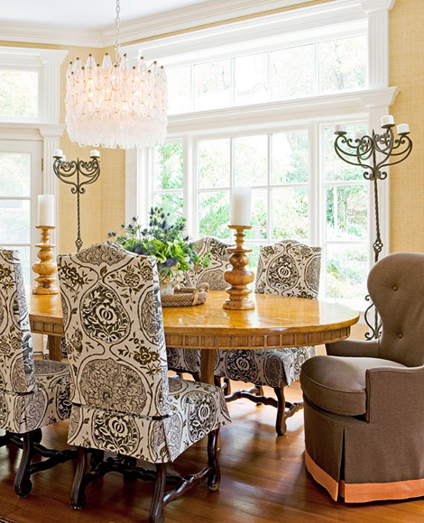 Katsugi on Dining Chairs via Traditional Home