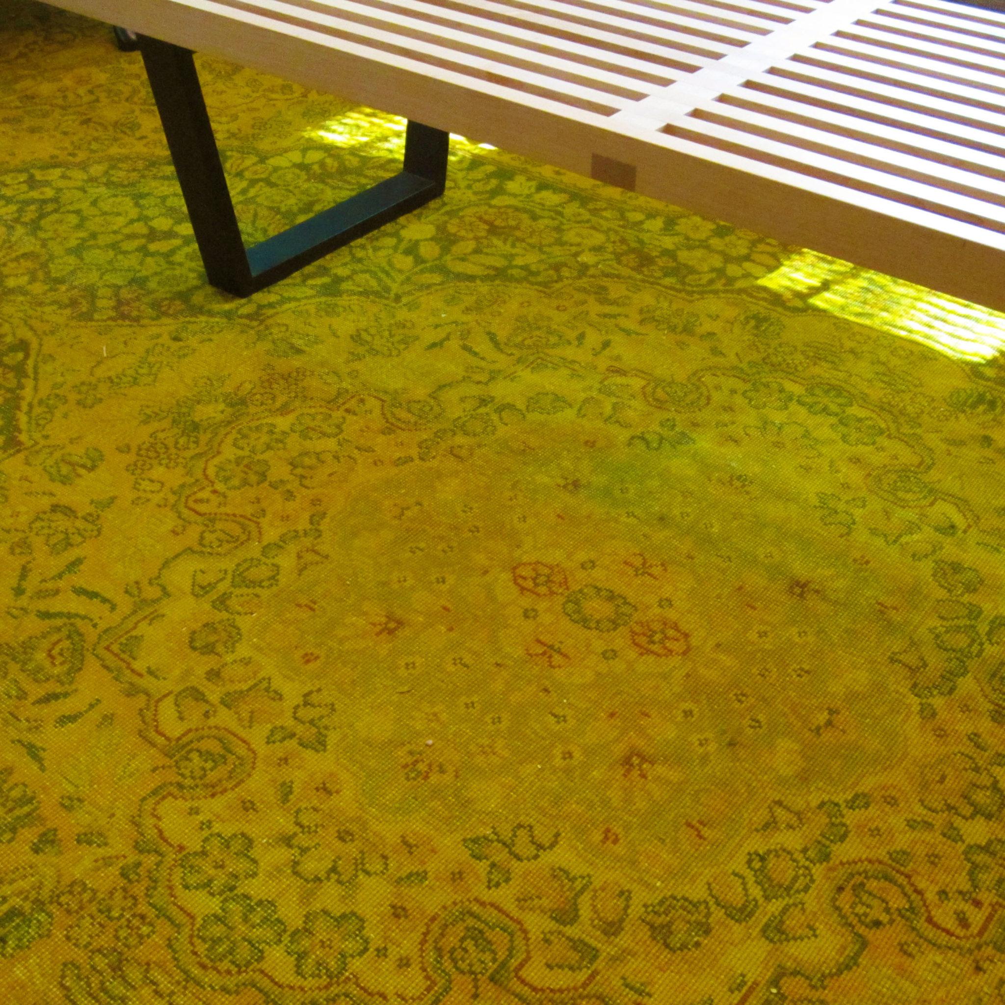 Overdyed Rug DIY at Design Lines Ltd Blog