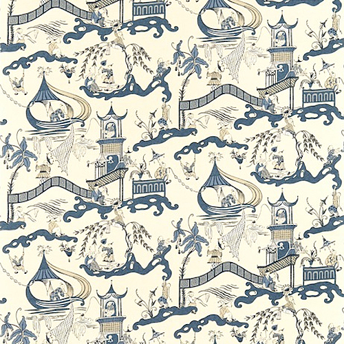 Sanderson Pagoda River Pattern