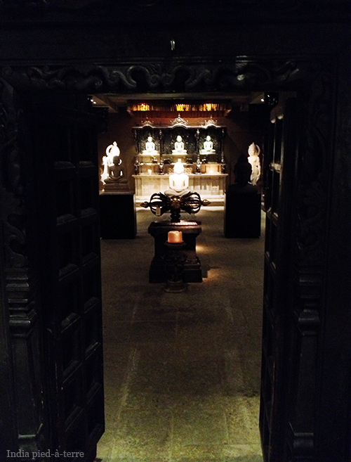Entrance to the Buddha Room at Primitive