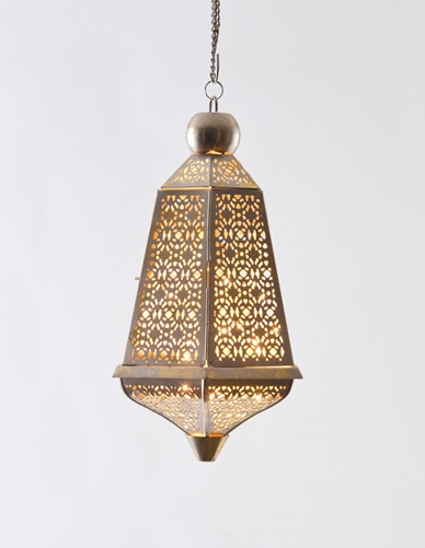 Jaali Lantern from Good Earth India