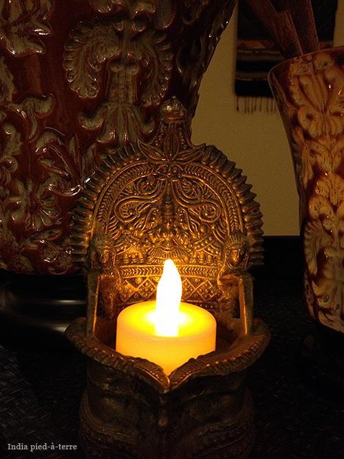 Lakshmi Oil Lamp