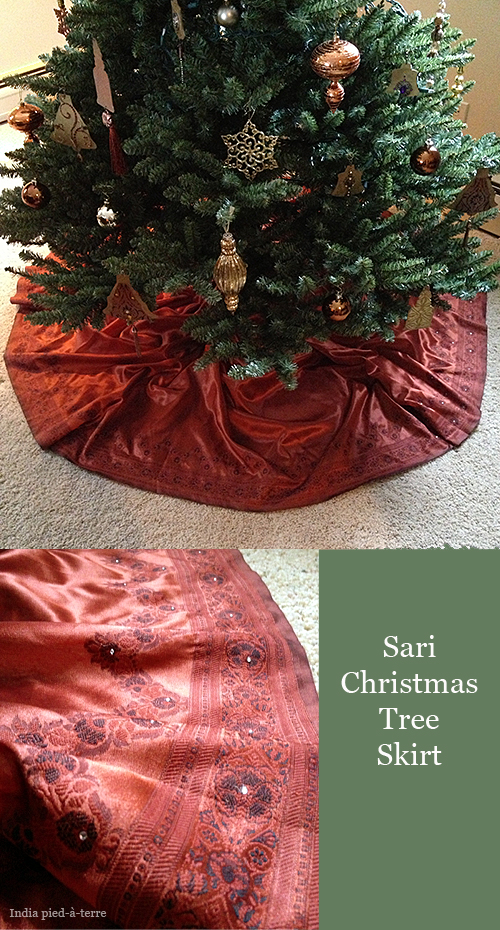 Sari Christmas Tree Skirt