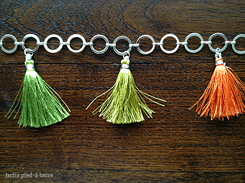 How to Make a Tassel Chain Garland