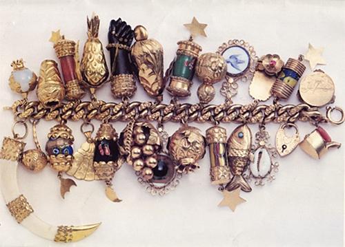 Jackie O Charm Bracelet