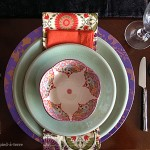 DIY: Stenciled Plate Chargers for Table Settings
