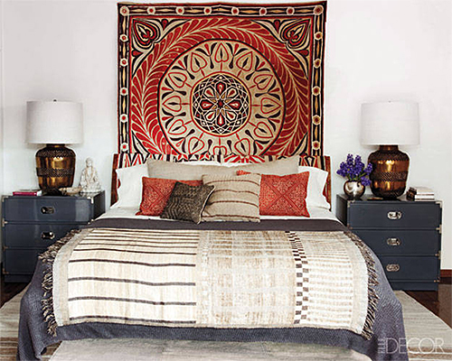 Ellen Pompeo Bedroom Designed by Martyn Lawrence Bullard